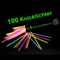 Mobile Preview: 100 Knicklichter 6 Farben Mix