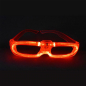 Preview: LED-Brille-rot