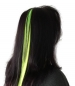 Preview: UV Neon-Haar-Extensions gelb