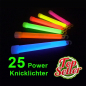 Preview: Power-Knicklichter-25 Stk.
