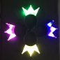 Preview: Led Haarreifenkrone set leuchtend