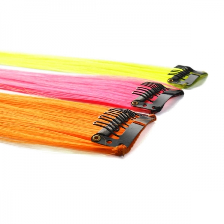 UV Neon-Haar-Extensions-Set