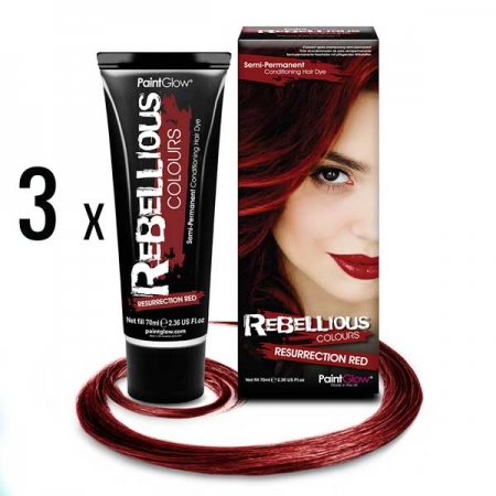 3 x Resurrection-Red