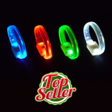 LED Flashing Crystal Armband