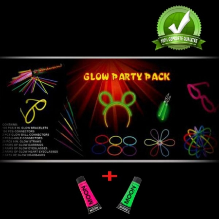UV-Knicklicht Party Box 1