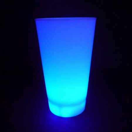 led-becher-blau