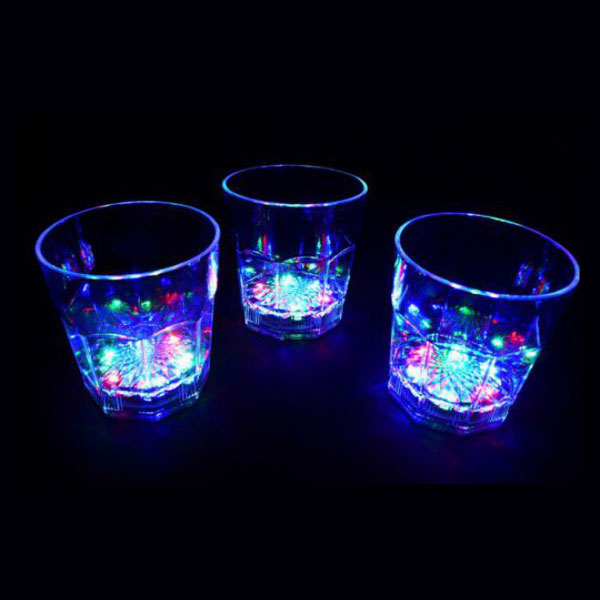 LED Whisky Glas