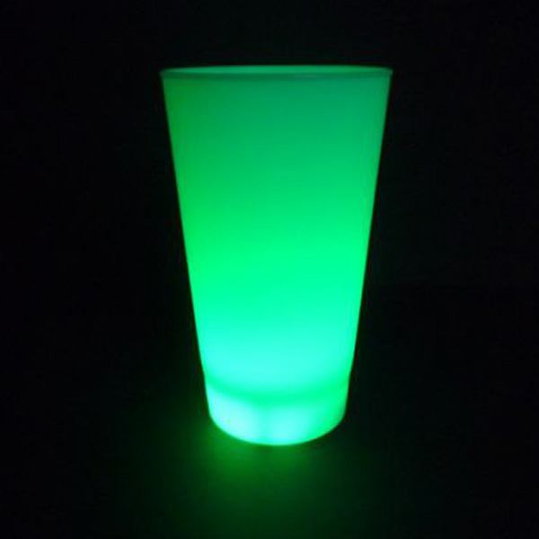 led-becher-gruen