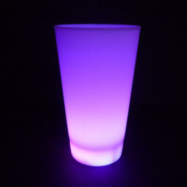 led-becher-lila