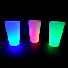 LED Becher Multicolor 360 ml